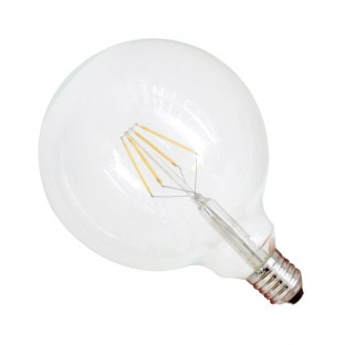 Bombilla led Filam Globo 6W 125X170mm