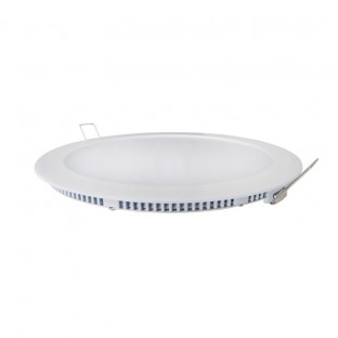 Downlight Led Extrafino 24W Plata