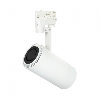 Foco de Carril LED Eclipse 35W Blanco Ø100X301mm